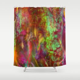 Life In Dreams Shower Curtain