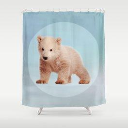 Save the Polar Bear - Endangered Species 7 Shower Curtain