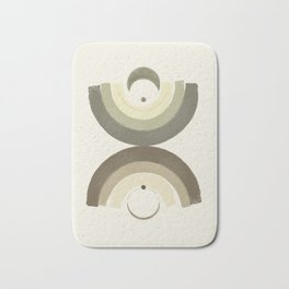 Crescent Earth Bath Mat