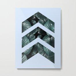Blue and tropical I Metal Print