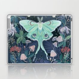Luna Moth Laptop & iPad Skin