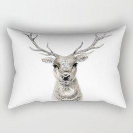 Proud Stag - Reindeer - Deer Rectangular Pillow