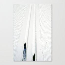 Machine Track Canvas Print