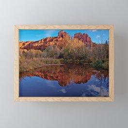 Cathedral Mirror Framed Mini Art Print