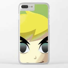 Toon Link Clear iPhone Case