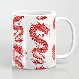 Chinese Dragon – Crimson Palette Coffee Mug