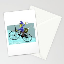 Feel the Rush... Here comes the Mailman! Stationery Cards