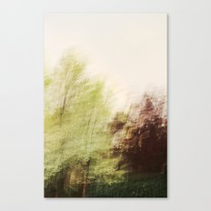 Trees in a dream Canvas Print
