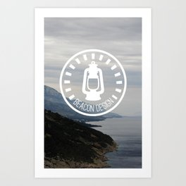 Beacon Design Art Print