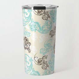 Baroque ornament. Classic design in luxury style Travel Mug