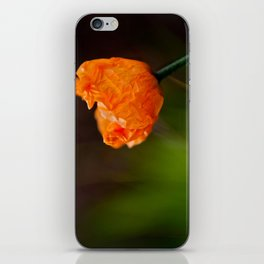 New Poppy iPhone Skin