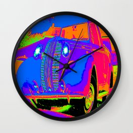 Jalopy Wall Clock