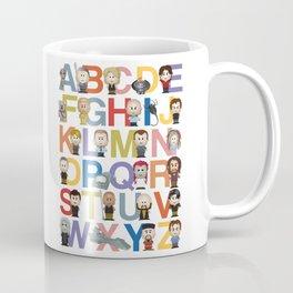 Gate Alphabet Coffee Mug