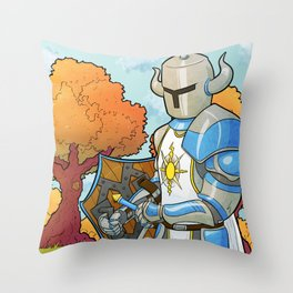 Have you praised the Sun today? Throw Pillow