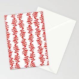 Leaves branches Stationery Cards