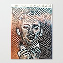 Abstract Brel Canvas Print