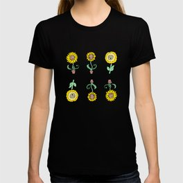 Sunflower Pack with Faces T-shirt