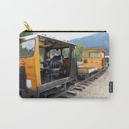 At the Rockwood Depot of the Durango & Silverton NG Railroad Carry-All Pouch