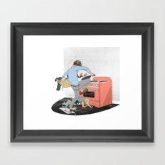 Do the Lego Twist Framed Art Print