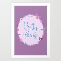 Pretty Little Thing  Art Print