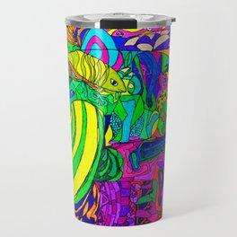 Fantacy Aquarium Travel Mug