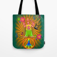 Remember the Sixties Tote Bag