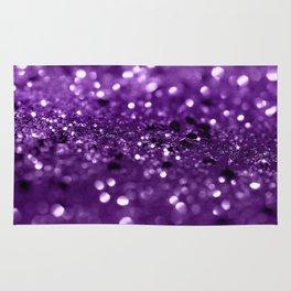 Purple Lady Glitter #1 #shiny #decor #art #society6 Rug