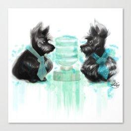 Watercooler II Canvas Print