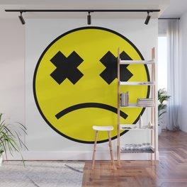 Sad Smiley Wall Mural