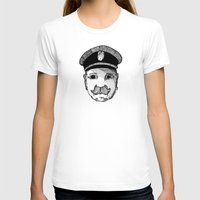 captain silva T-shirts featuring Captain by Addison Karl