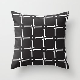 "Wallpaper - The Didot ""j"" Project Throw Pillow"