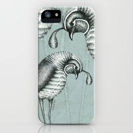 Quails I iPhone Case