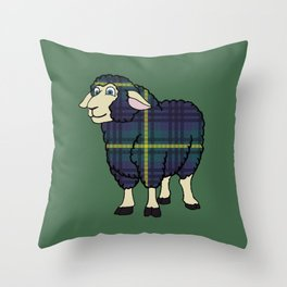 Modern Johnstone Sheep Throw Pillow