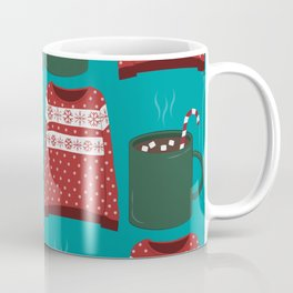 Winter/Christmas - Hot Chocolates And Christmas Sweaters Coffee Mug