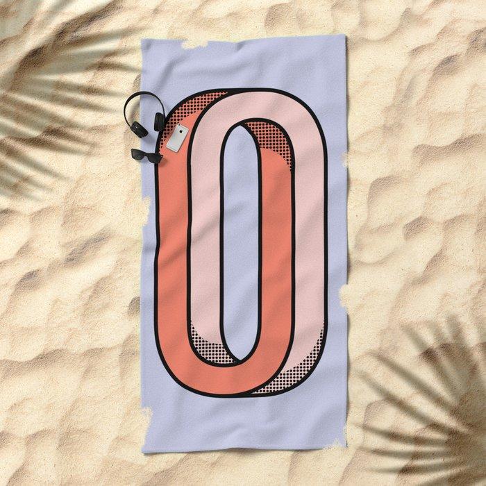 Looped Beach Towel