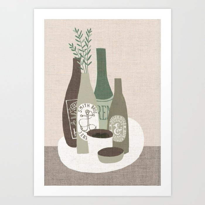 stoneware Art Print