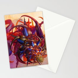 Sci-fi insect Stationery Cards