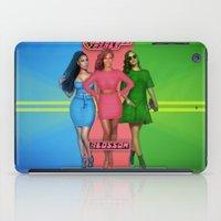 powerpuff girls iPad Cases featuring The PowerPuff Girls by Tyler Simien