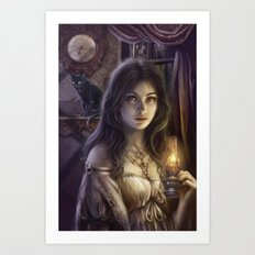 The witching hour Art Print