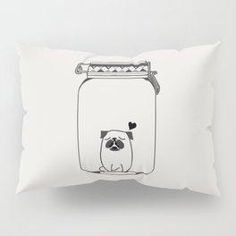 Kissing The Jar Pillow Sham
