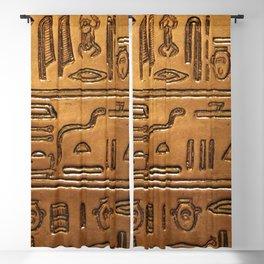 Hieroglyphs 2014-1020 Blackout Curtain