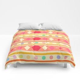 Happy Tribal Pattern Comforters