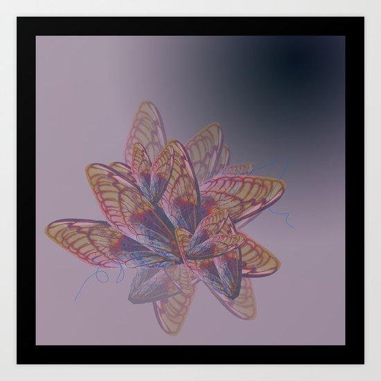 Eternal Bloom Art Print