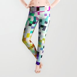 Pixelated No.1 Leggings