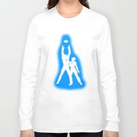 tron Long Sleeve T-shirts featuring Tron by KewlZidane