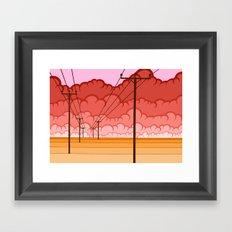 Communication Let Me Down Framed Art Print