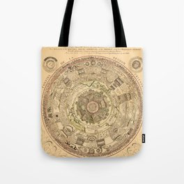 Constellation Chart 1696 Tote Bag