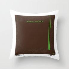 No004 My Alien minimal movie poster Throw Pillow
