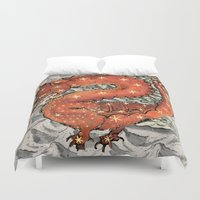 carpe diem Duvet Covers featuring Carpe Diem by anipani