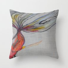 Goldfish Pond (close up#2) Throw Pillow